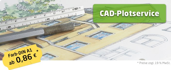 Copyshop Oldenburg CAD Plotservice A1