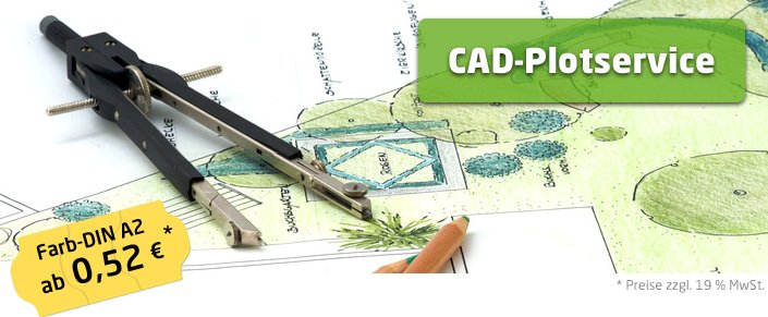 Copyshop Oldenburg CAD Plotservice A2