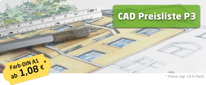 Copyshop Oldenburg CAD Preisliste P3 A1