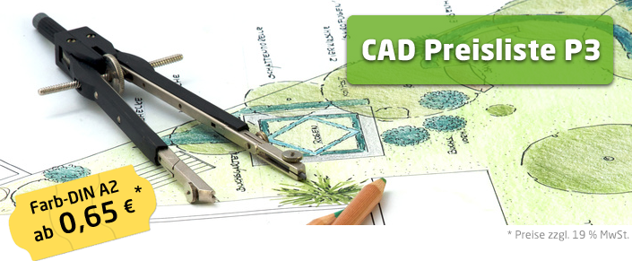 Copyshop Oldenburg CAD Preisliste P3 A2